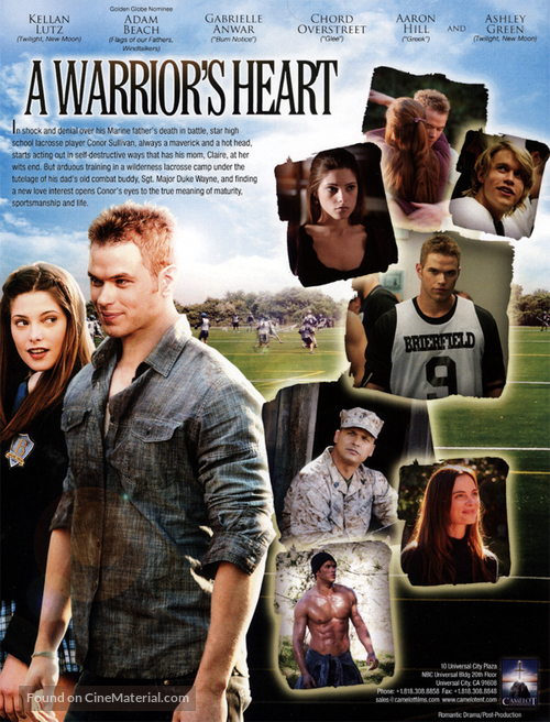 A Warrior's Heart - Movie Poster