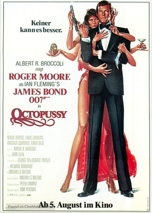 Octopussy - German Movie Poster