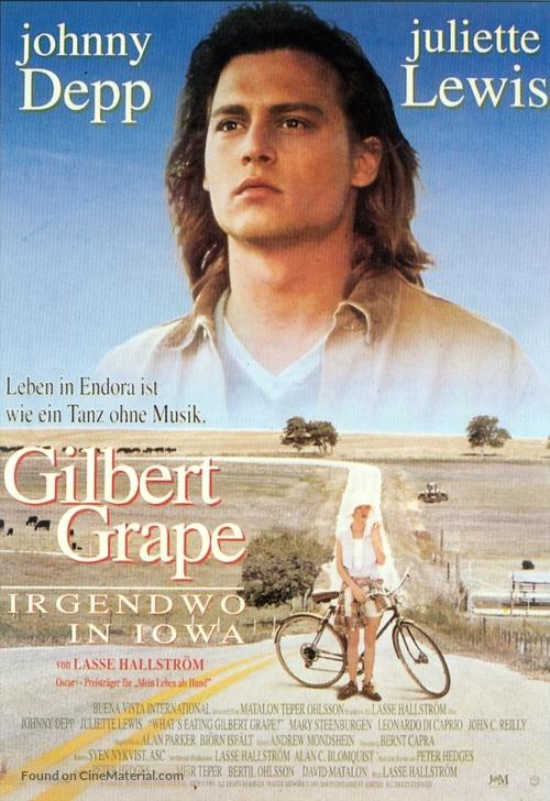 What's Eating Gilbert Grape - German Movie Poster