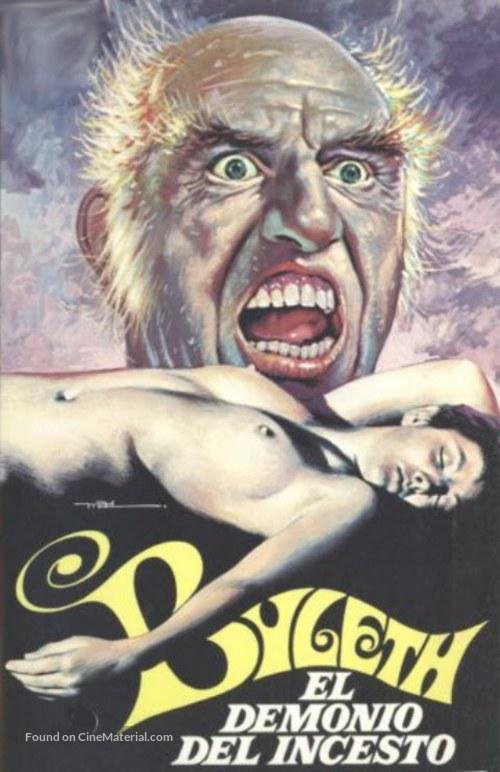 Byleth - il demone dell'incesto - Spanish Movie Poster
