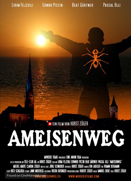 Ameisenweg - German poster