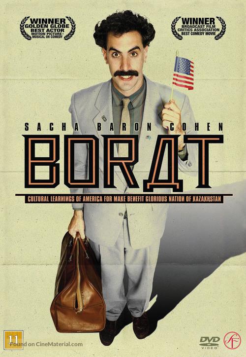 Borat: Cultural Learnings of America for Make Benefit Glorious Nation of Kazakhstan - Danish poster