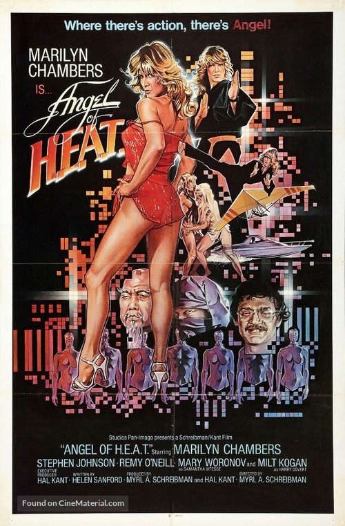 Angel of H.E.A.T. - Movie Poster
