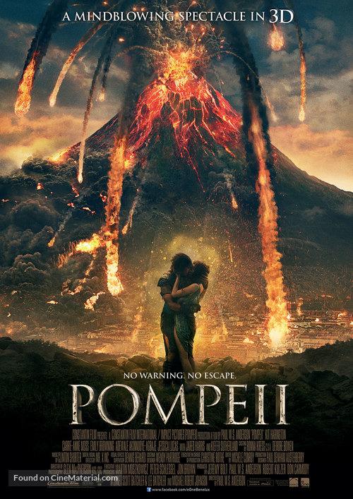 Pompeii - Dutch Movie Poster