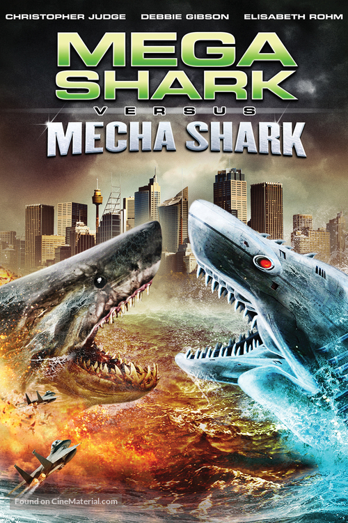 Mega Shark vs. Mecha Shark - DVD movie cover