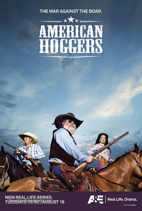 """""""American Hoggers"""" - Movie Poster"""