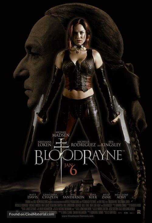 Bloodrayne - poster