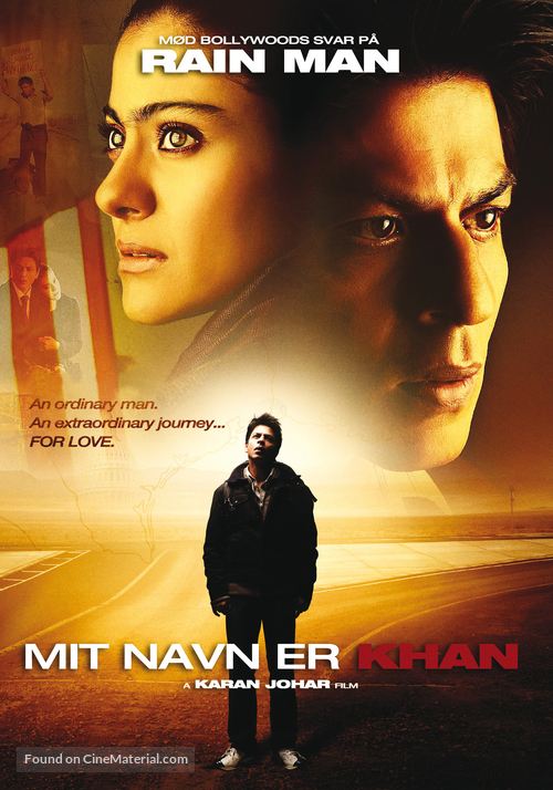My Name Is Khan Danish movie poster  My Name Is Khan Poster