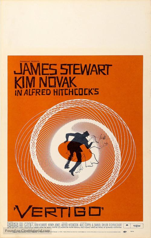 Vertigo - Theatrical movie poster