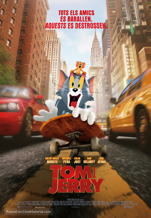 Tom and Jerry - Andorran Movie Poster