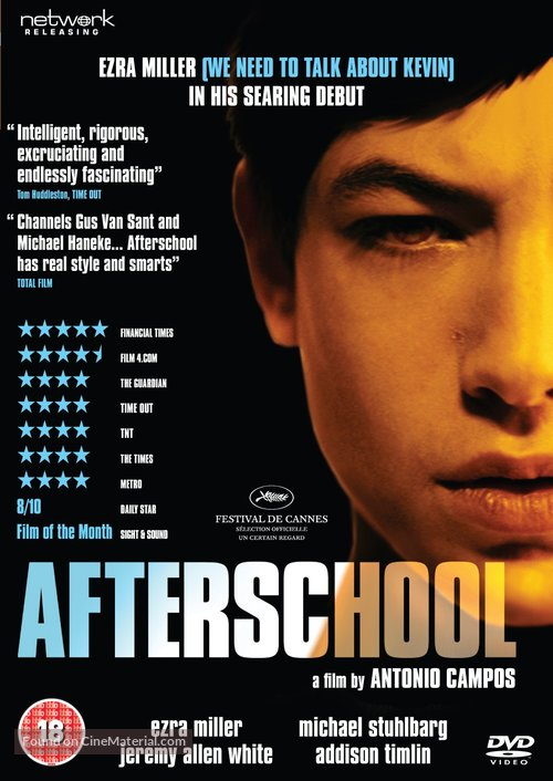 Afterschool - British DVD movie cover