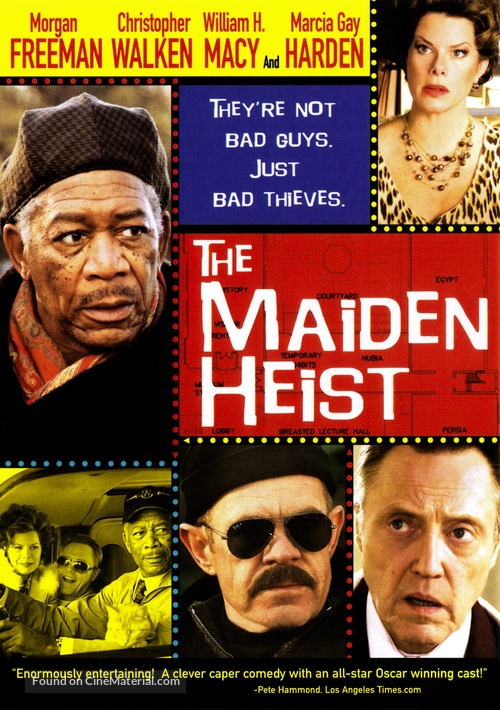 The Maiden Heist - DVD movie cover