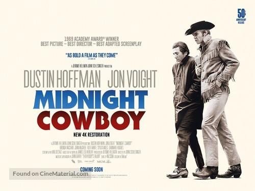 Midnight Cowboy - Re-release movie poster