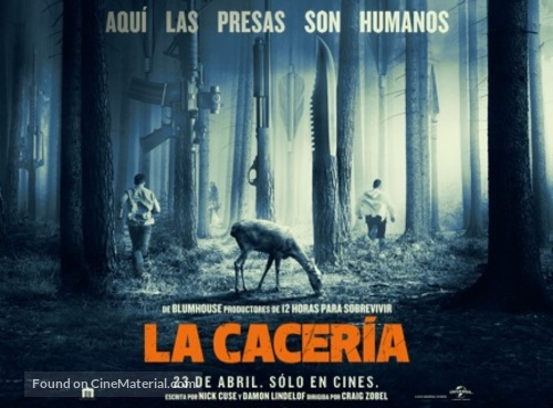 The Hunt - Mexican Movie Poster