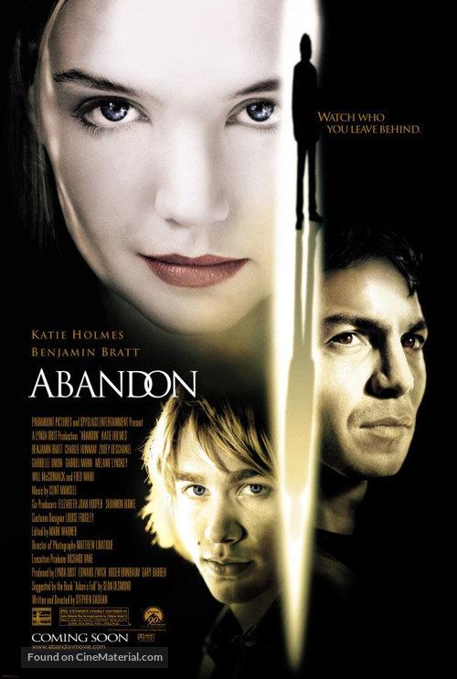 Abandon - Movie Poster