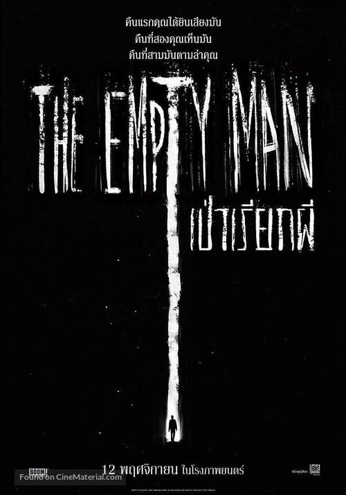 The Empty Man - Thai Movie Poster