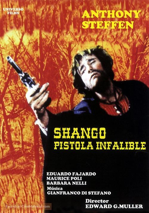 Shango, la pistola infallibile - Spanish DVD movie cover