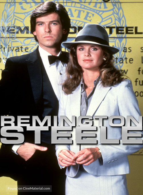 """Remington Steele"" - Movie Poster"