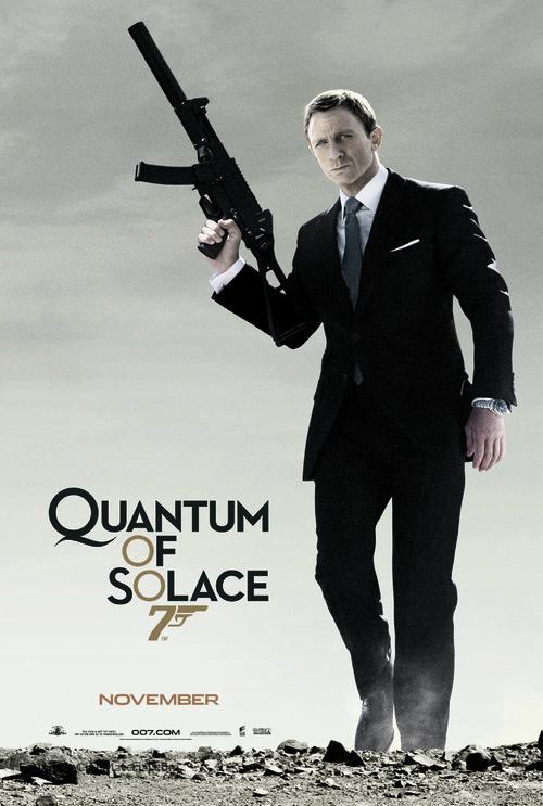 Quantum of Solace - Movie Poster