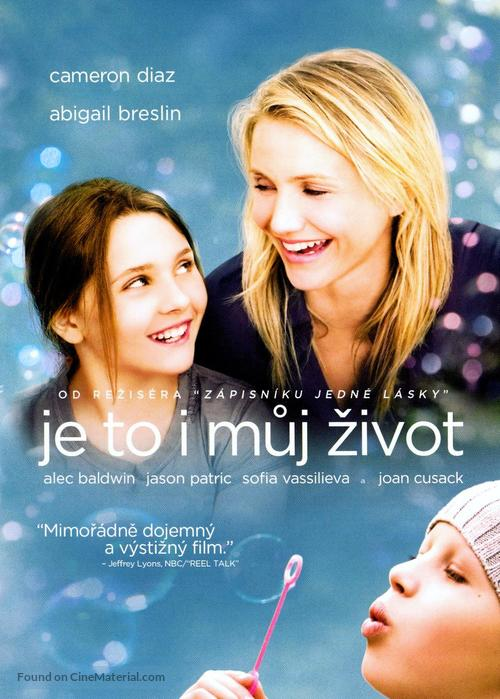My Sister's Keeper - Czech DVD movie cover