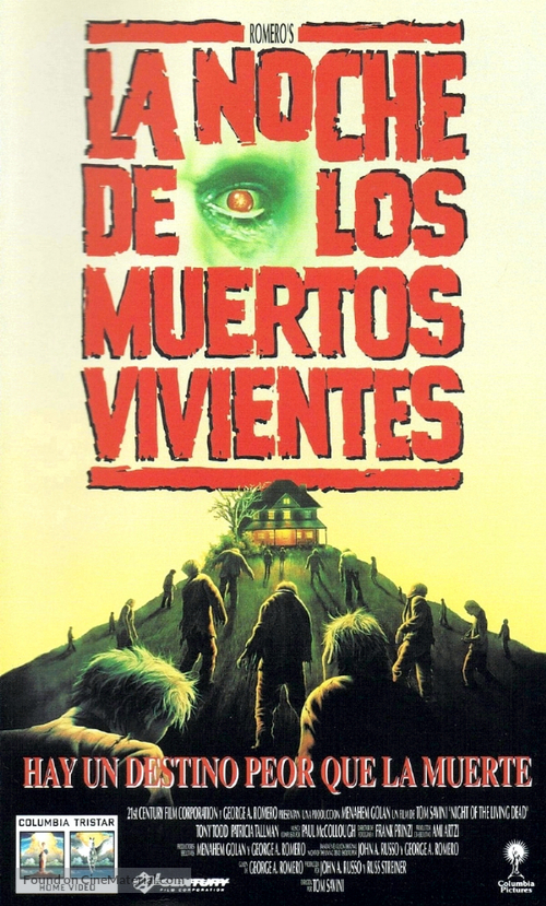 Night of the Living Dead - Argentinian Movie Cover