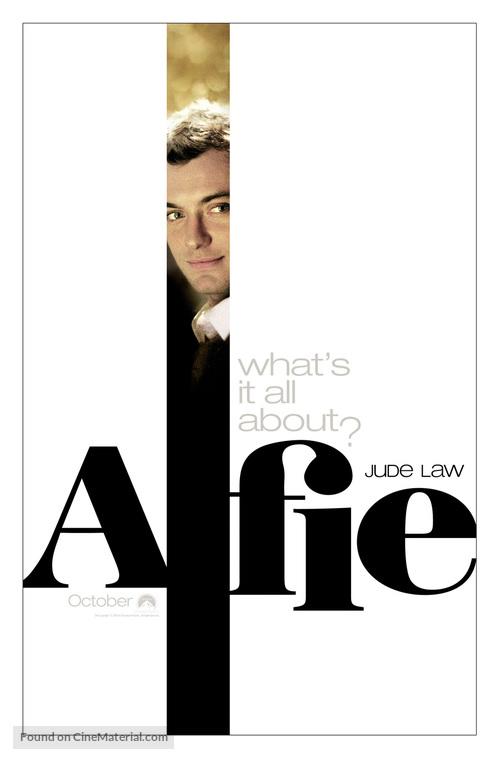 Alfie - Movie Poster
