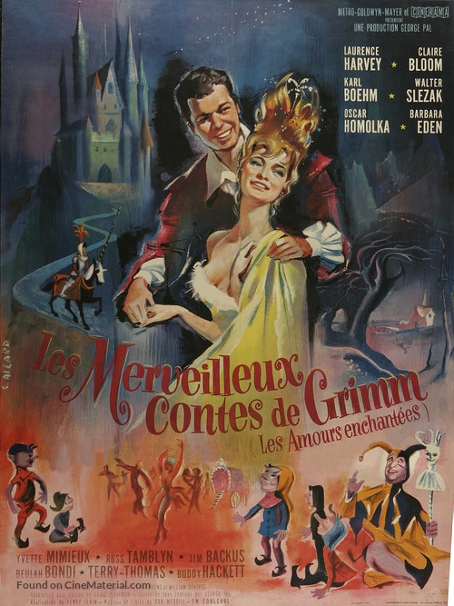 The Wonderful World of the Brothers Grimm - French Movie Poster