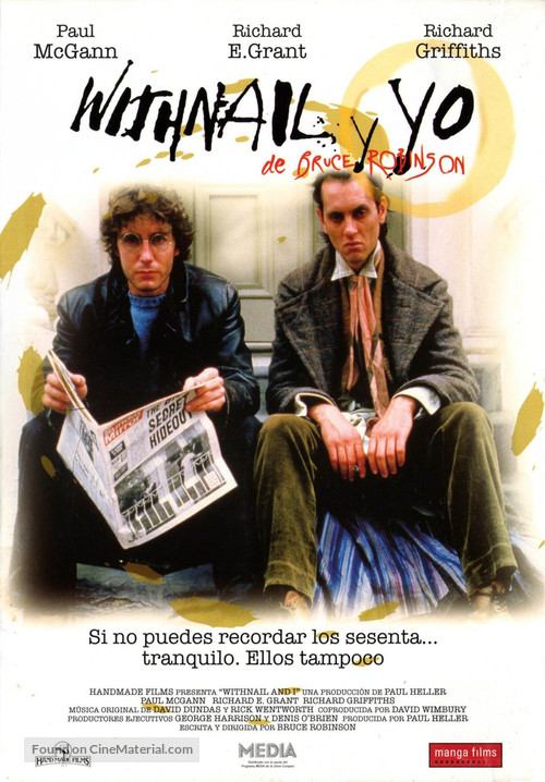 Withnail & I - Spanish Movie Cover