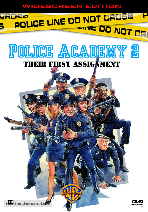 Police Academy 2: Their First Assignment - DVD movie cover