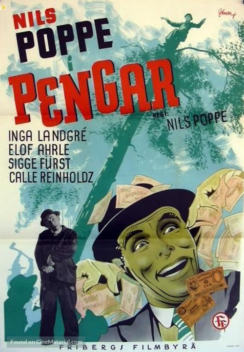 Pengar - en tragikomisk saga - Swedish Movie Poster