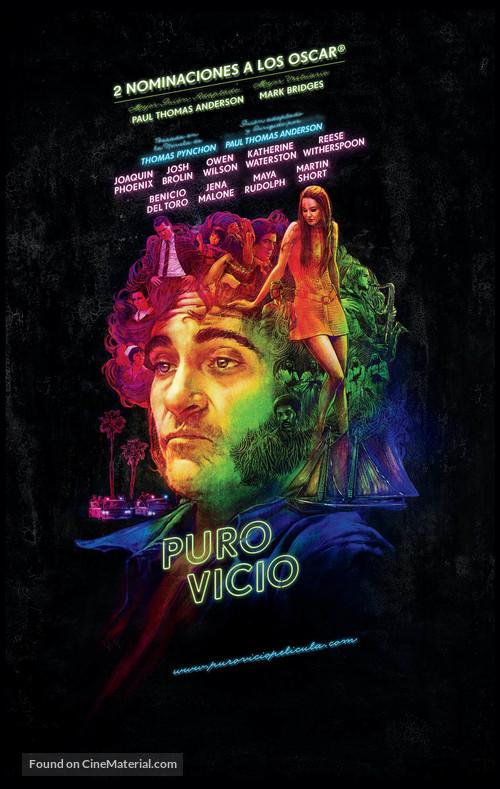 Inherent Vice - Spanish Movie Poster