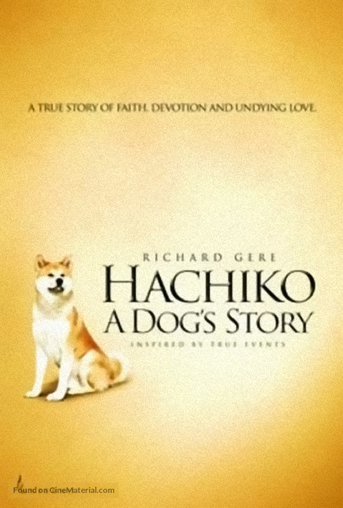 Hachiko: A Dog's Story - DVD cover