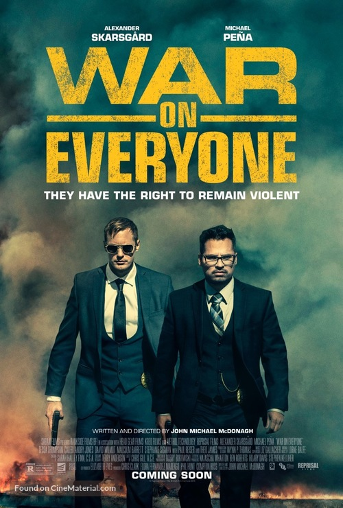 War on Everyone - Movie Poster