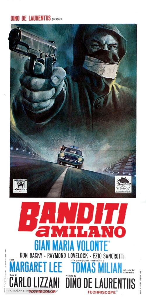 Banditi a Milano - Italian Movie Poster