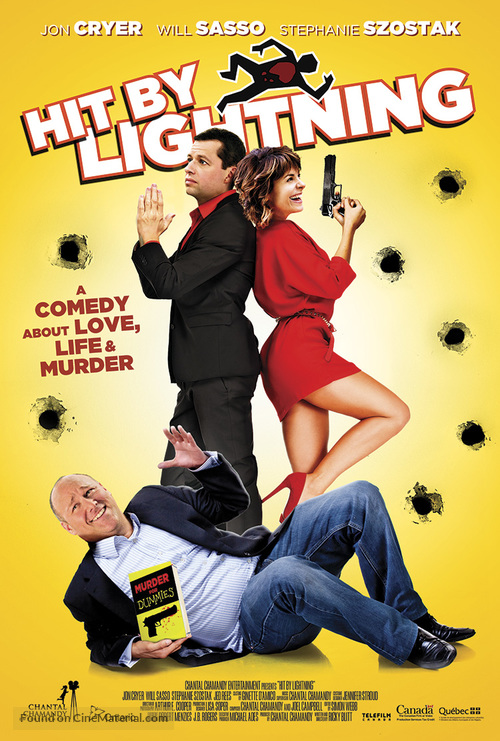 Hit by Lightning - British Movie Poster