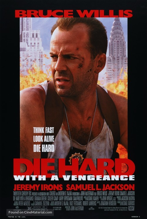 Die Hard: With a Vengeance - Movie Poster
