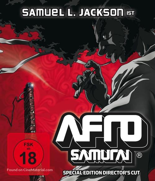 """""""Afro Samurai"""" - German Movie Cover"""