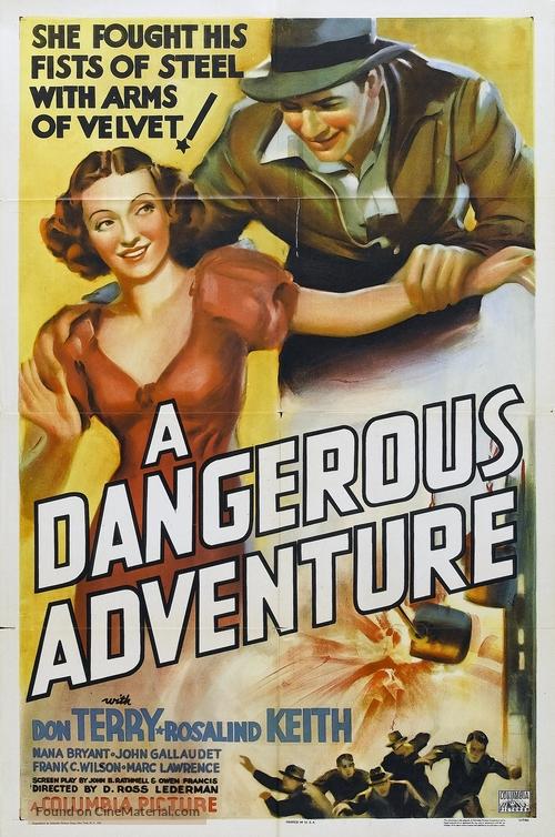 A Dangerous Adventure - Movie Poster