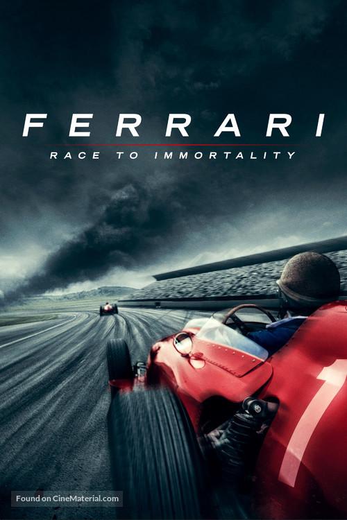 Ferrari: Race to Immortality - British Movie Cover