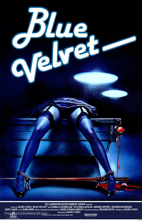 Blue Velvet - Movie Poster