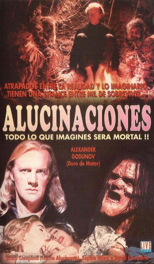 Waxwork II: Lost in Time - Argentinian Movie Cover