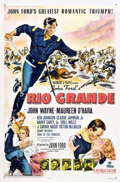 Rio Grande - Theatrical movie poster