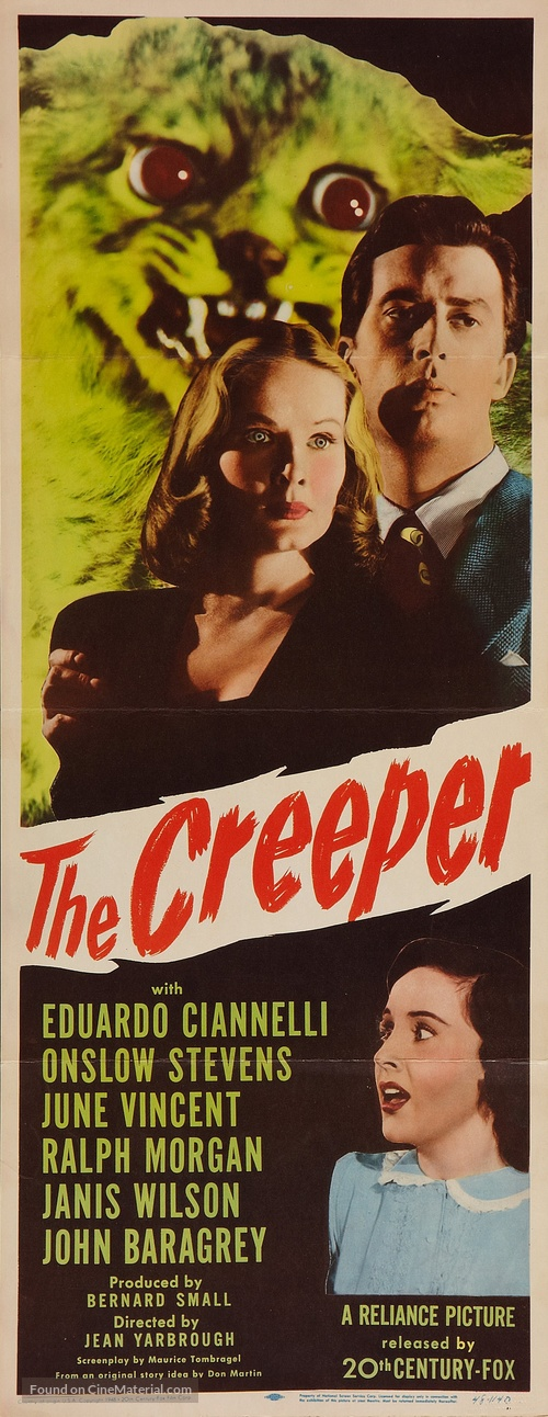 The Creeper - Movie Poster