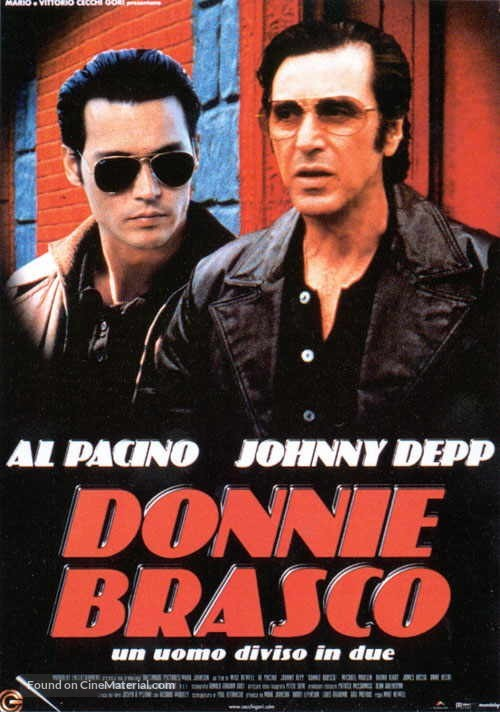 Donnie Brasco - Italian Movie Poster