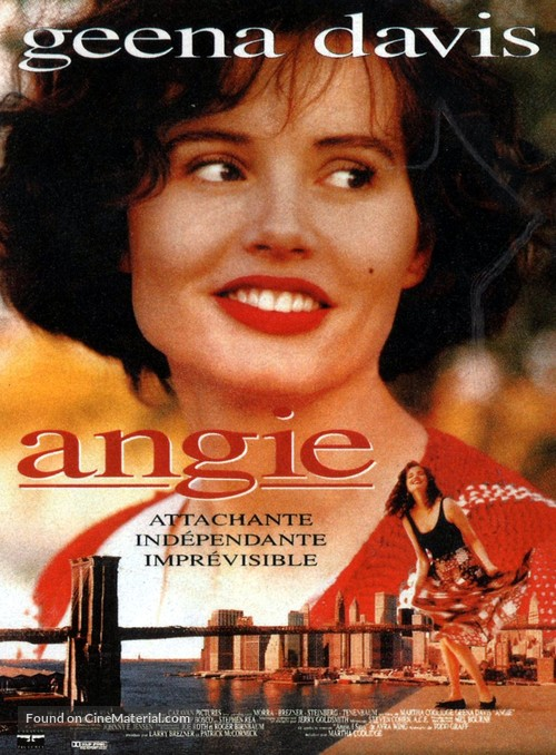 Angie - French Movie Poster
