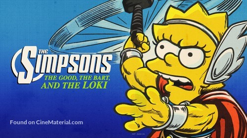 The Good, the Bart, and the Loki - International Movie Cover