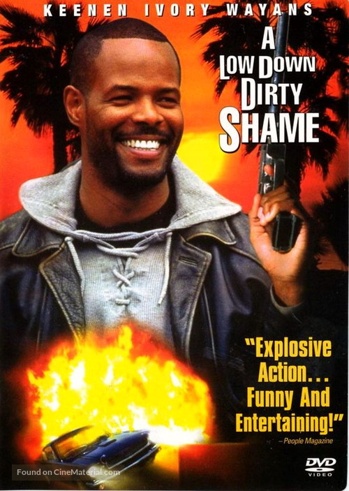 A Low Down Dirty Shame - DVD movie cover