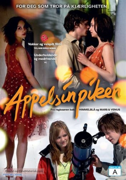 Appelsinpiken - Norwegian Movie Cover