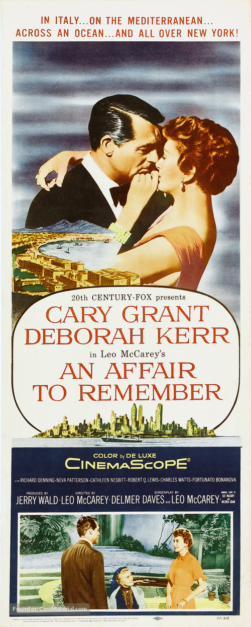 An Affair to Remember - Movie Poster