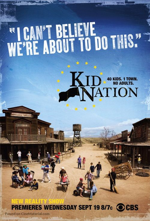 """Kid Nation"" - poster"